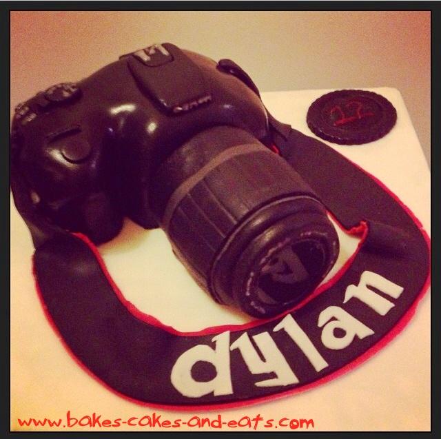 Canon 400D Camera Cake