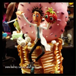 'Cloudy with a Chance of Meatballs' Award Winning Cake