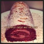 Chocolate Orange Swiss Roll