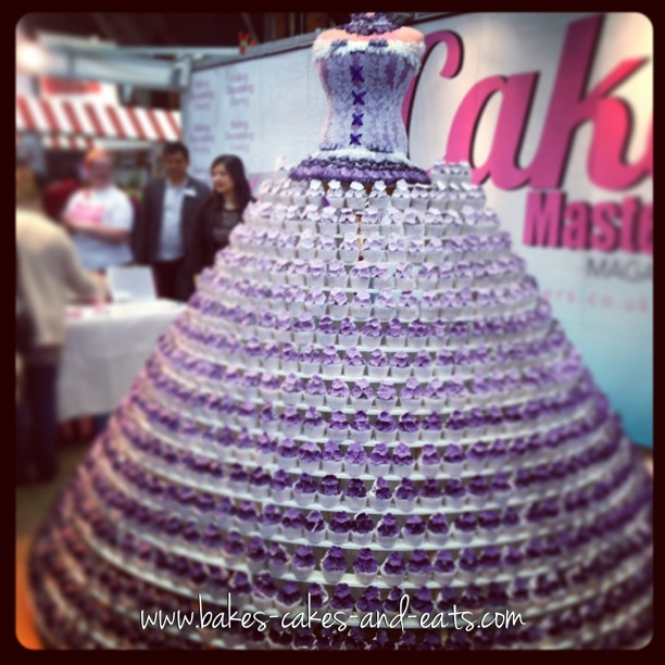Cupcake Dress at Cake & Bake Manchester