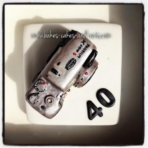 Fujifilm X100s Birthday Cake