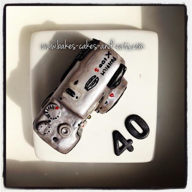 Fujifilm X100s Camera Cake