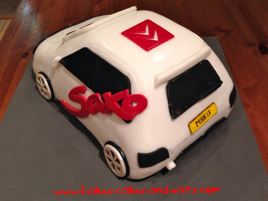 Citroen Saxo Cake Back