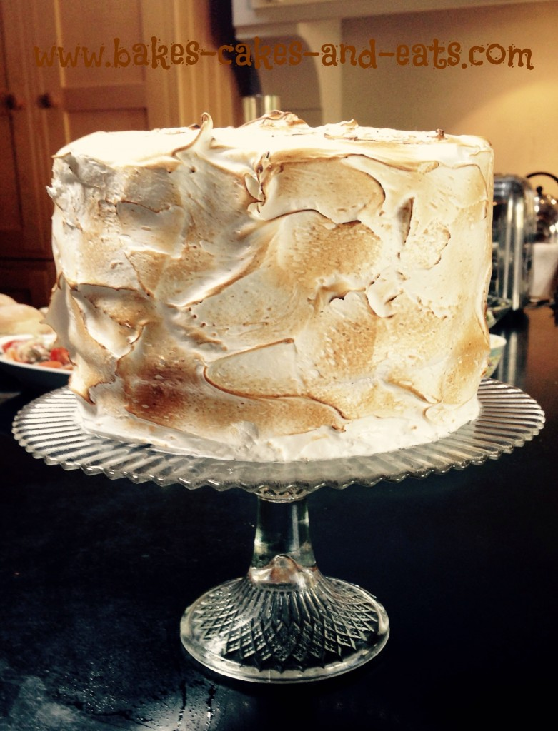 Edd Kimber's S'mores Cake by Bakes Cakes and Eats June 2014