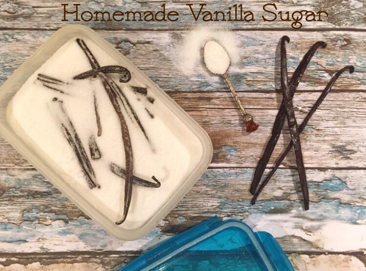 Homemade Vanilla Sugar - Bakes, Cakes & Eats