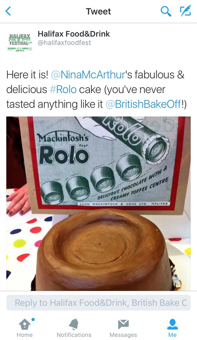 Rolo Cake