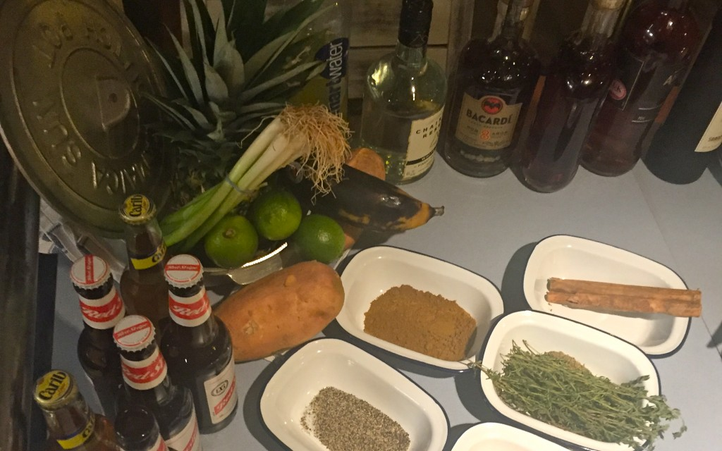 Caribbean Restaurant Turtle Bay ingredients Dutch Pot