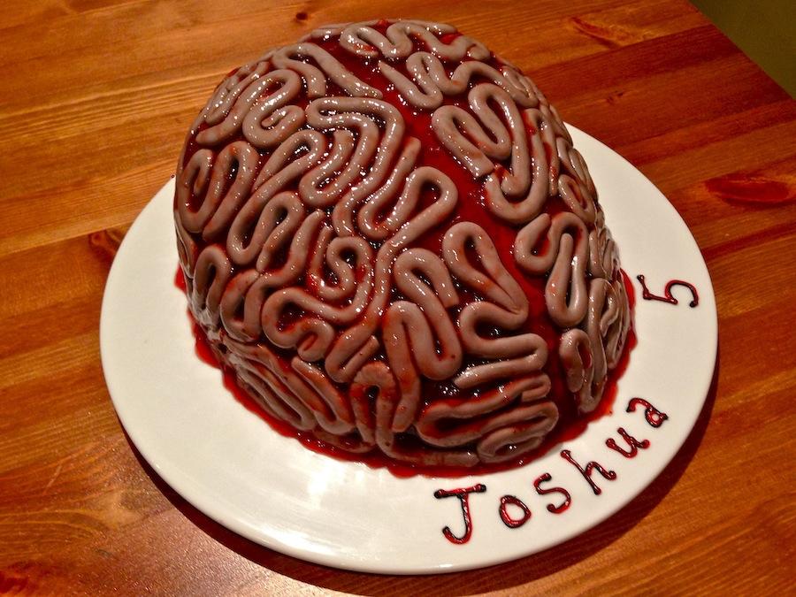 Brain Cake Picture