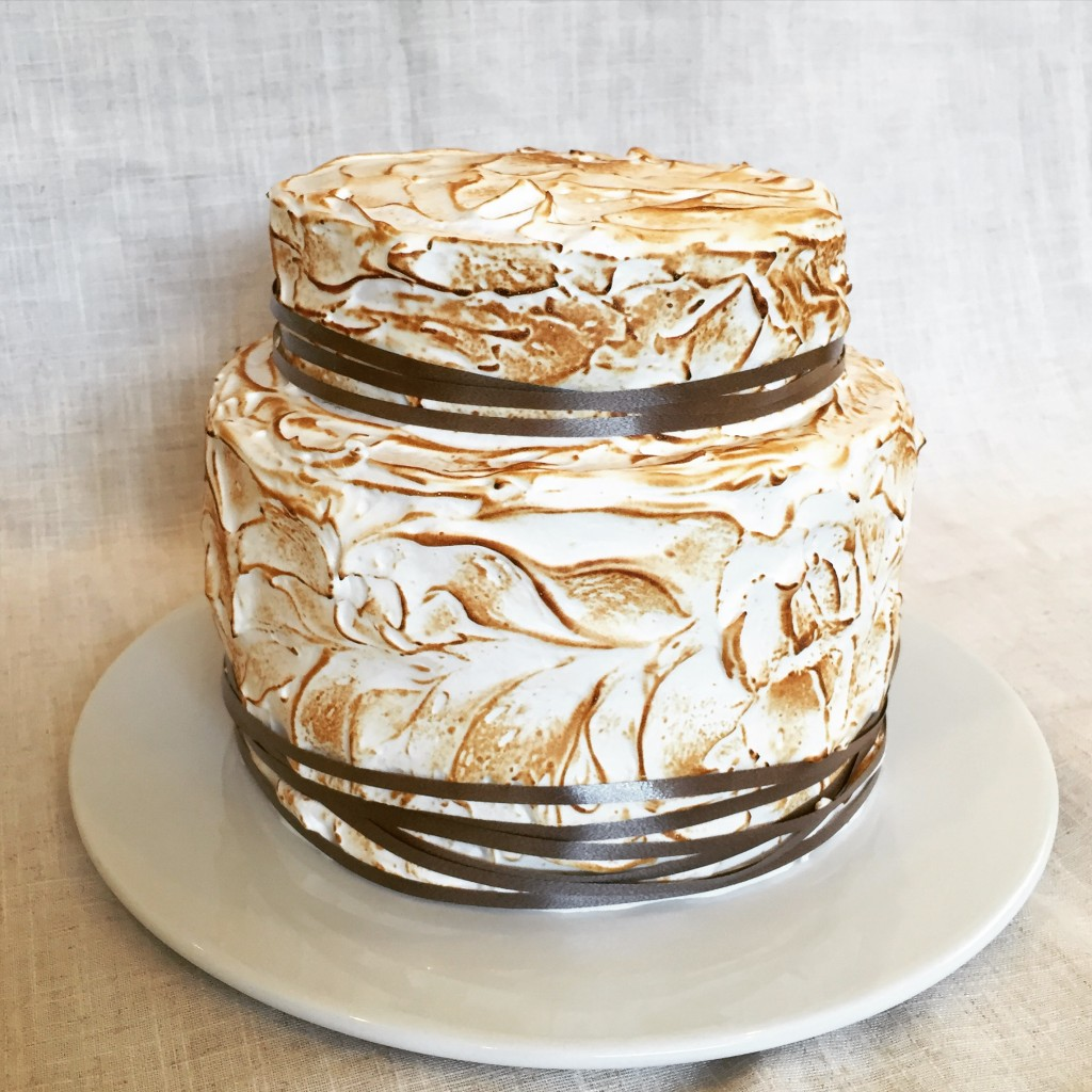 S'mores Birthday Cake Photo
