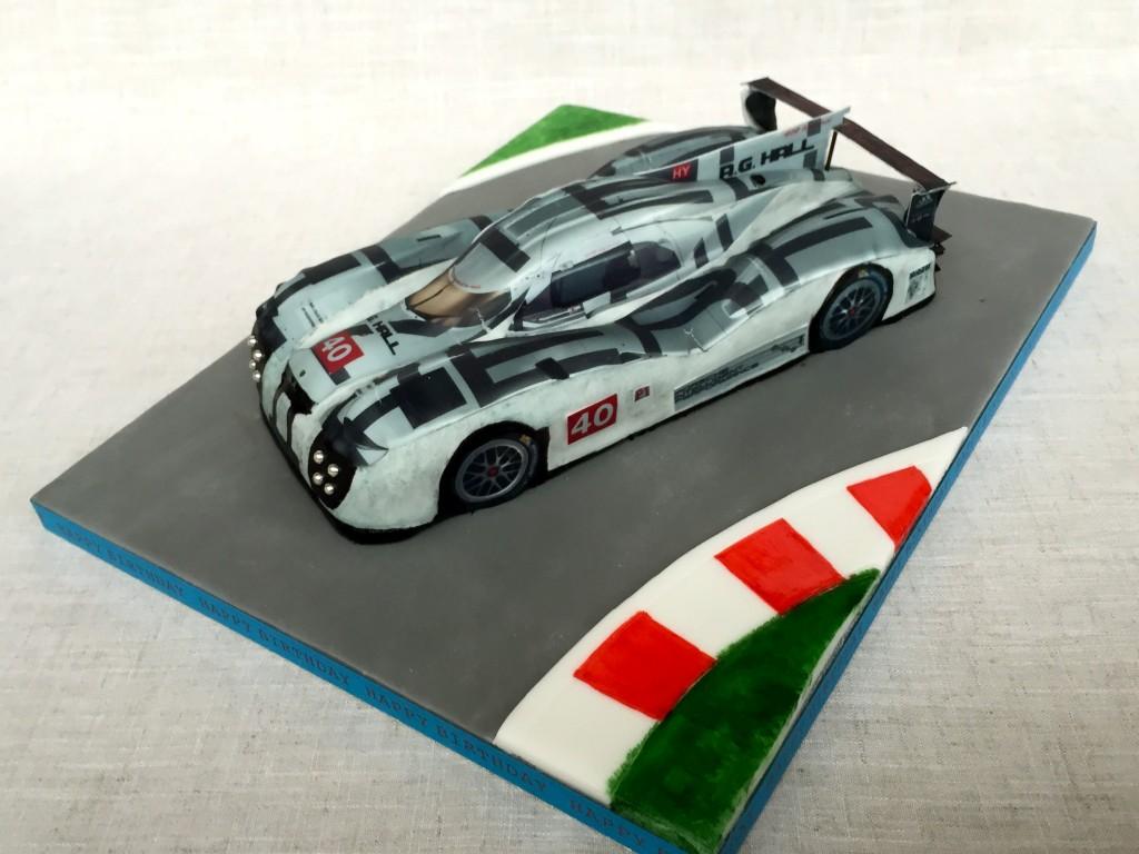 Porsche LMP1 Birthday Cake
