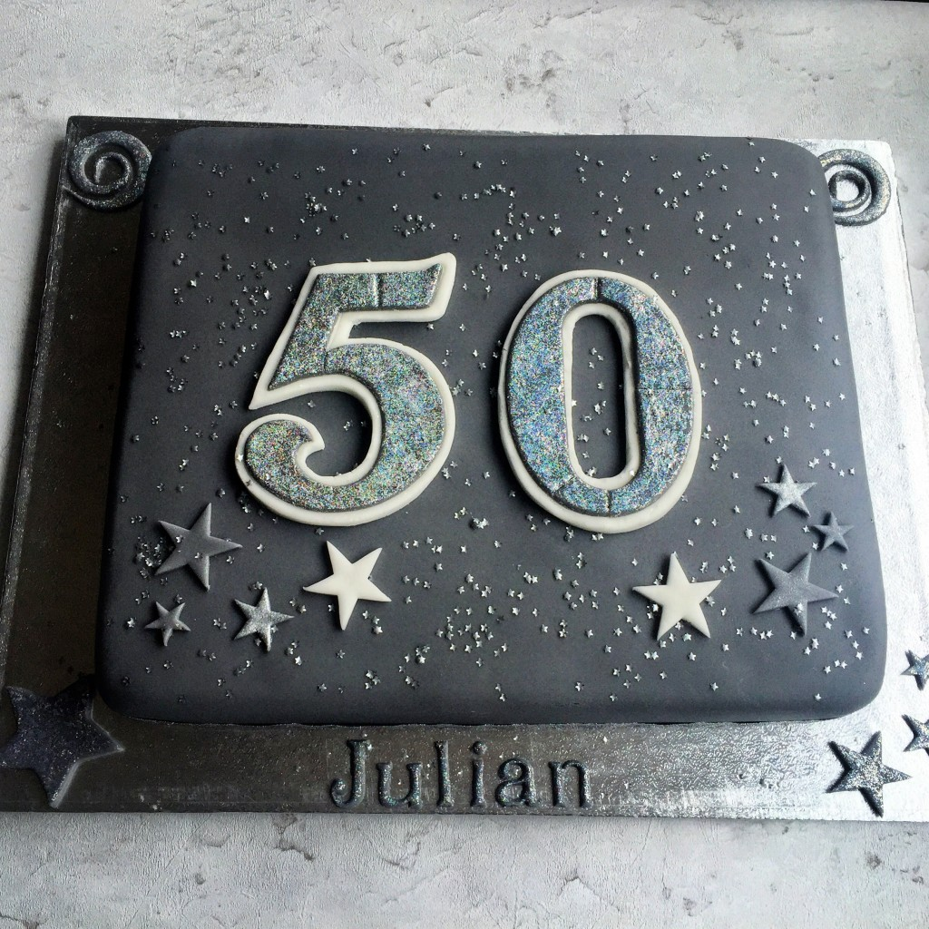 50th Celebration Birthday Cake