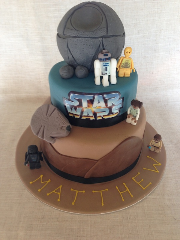 Star Wars Birthday Cake Picture
