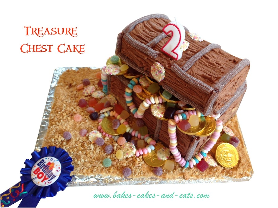 Treasure Chest Birthday Cake Picture